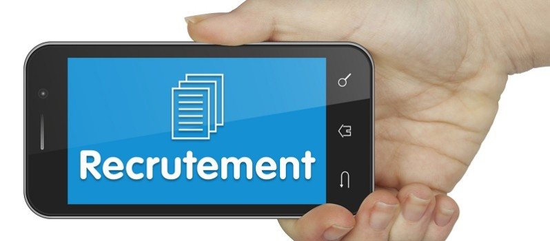 Recrutement. Mobile
