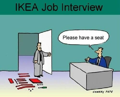 Entretien d'embauche à Ikea