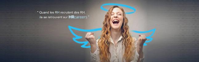 plateforme HRcareers dédiée à l'emploi et la formation RH