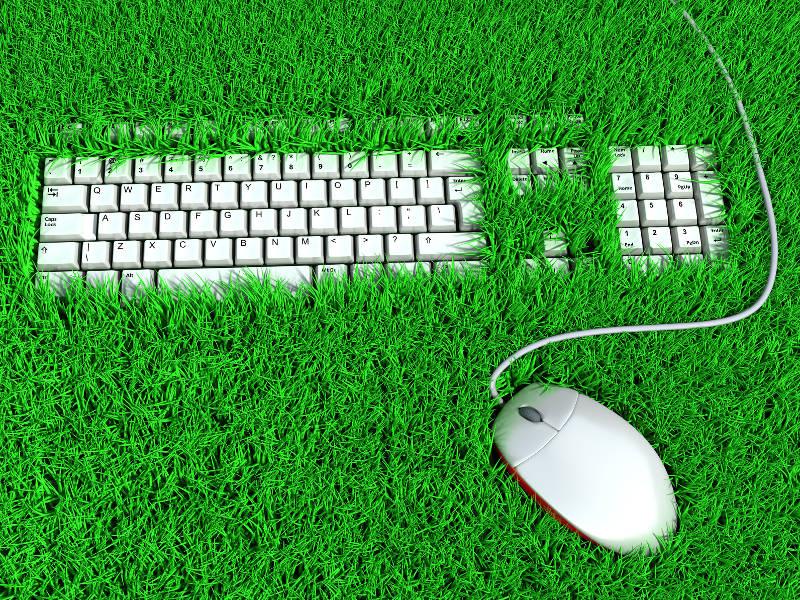 Clavier et souris ergonomie de travail
