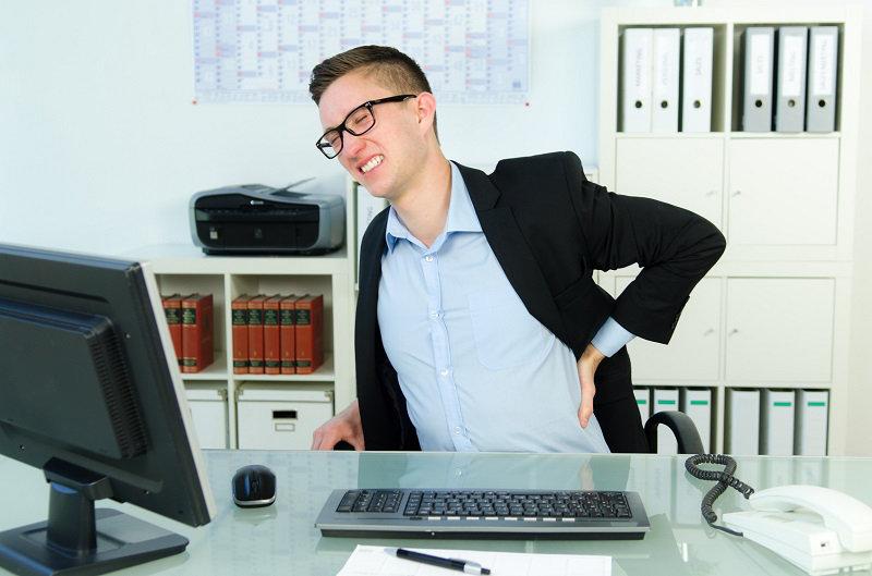 mal de dos au bureau