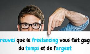 freelancing gain de temps et d'argent