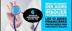 Les aides pour la prévention des risques professionnels